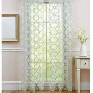 BETTER HOMES & GARDENS Sheer Juniper Curtain Panel